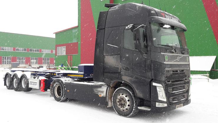 Полуприцепы-контейнеровозы STEELBEAR пользуются спросом в Республике Беларусь