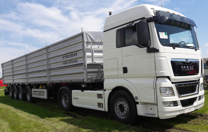 На выставке «Золотая Нива» АО «ВОМЗ» STEELBEAR предложит комплексные решения для перевозки зерна!